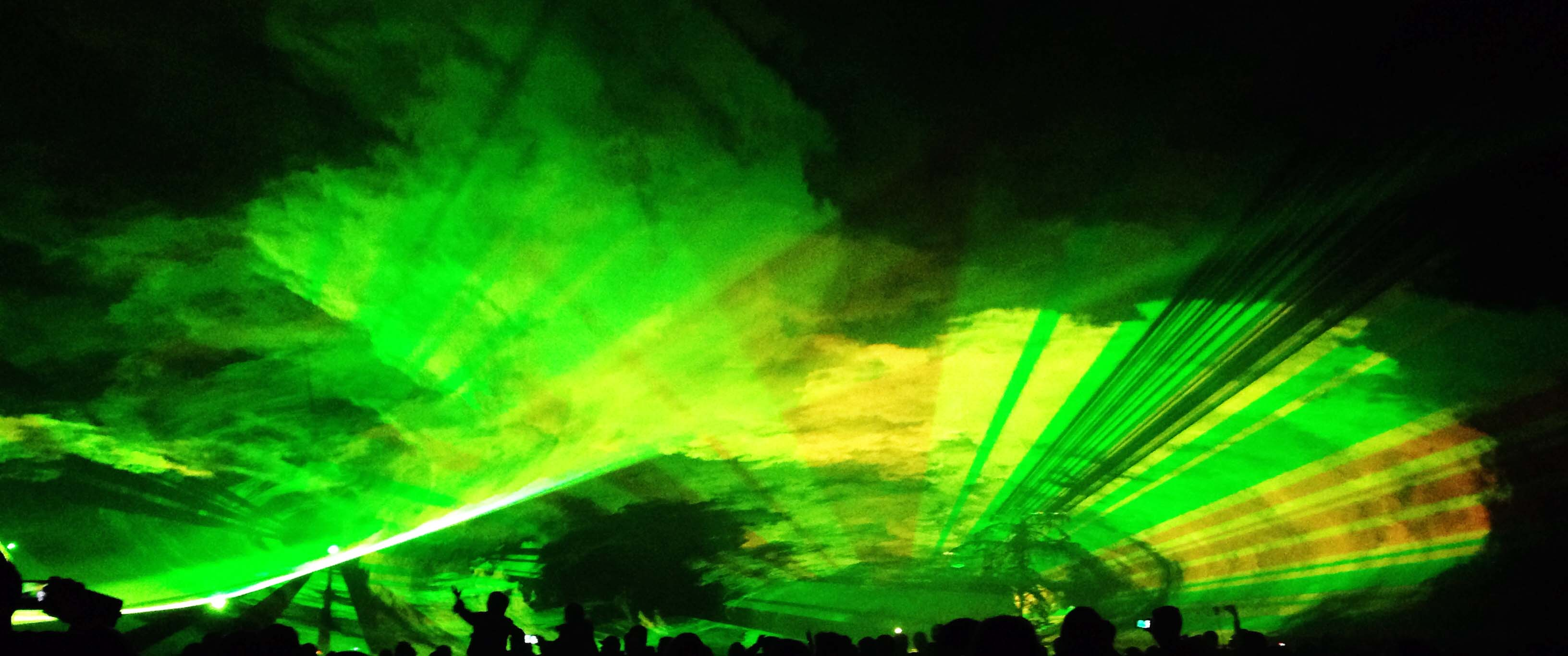 Lasershows mit Feeling